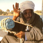 Felucca Captain on the Nile, Egypt