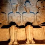 Figures Inside Abu Simbel, Egypt