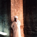 Inside the Temple of Philae, Egypt