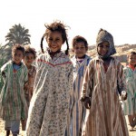 Children Near Aswan, Egypt