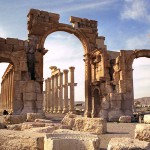 Arch of Triumph in Palmyra, Syria