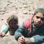 Bedouin Children in Petra, Jordan