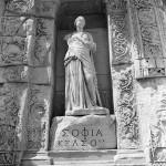 Marble Statue in Ephesus