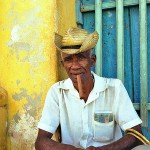 Man With a Cigar in Trinidad, Cuba