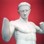 Ancient Greek Statue of an Athlete