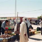 Market in Zaafrane, Tunisia