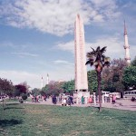 Ancient Egyptian Obelisk in Istanbul