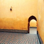 Palace Courtyard in Meknes