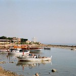 Mediterranean Sea at Side, Turkey