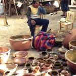 Pottery Seller in Chichicastenango, Guatemala