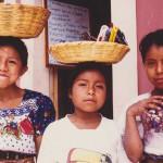 Three Girls in Antigua, Guatemala