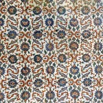 Floral Tiles in Topkapi Palace, Istanbul