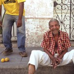 Two Men in Santa Clara, Cuba