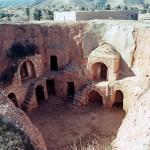 Underground Building in Matmata, Tunisia