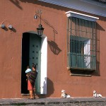 Street Scene in Antigua, Guatemala