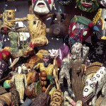 Wooden Carvings in Chichicastenango, Guatemala