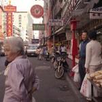Yaowarat Road in Bangkok's Chinatown, Thailand