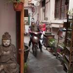 Alley in Xintiandi, Shanghai