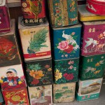 Antique Tins For Sale in the Old City, Shanghai