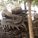 Stone Dragon Head at Yu Gardens, Shanghai