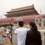 Chinese Tourists in Tiananmen Square, Beijing