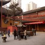Courtyard of the Jade Buddha Temple, Shanghai
