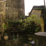 Courtyard of a House in Hoi An, Viet Nam