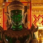 Emerald Buddha at Wat Doi Suthep, Chang Mai, Thailand