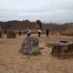Four Stone Jars on the Plain of Jars, Laos
