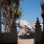 Giant Reclining Buddha Statue Next to That Luang, Vientiane, Laos