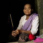 Old Woman in Angkor, Cambodia
