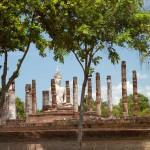 Wat Mahathat, Sukothai, Thailand
