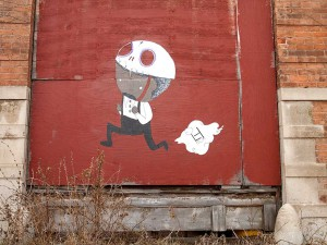 Street Art in Brush Park, Detroit