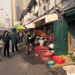 Street Market in the Old City, Shanghai