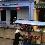 Street Scene in Hoi An, Viet Nam