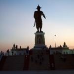 Sunset in Vientiane, Laos