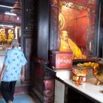 Wat Mangon Kamaiawat in Bangkok's Chinatown, Thailand