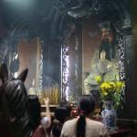 Shrine Inside the Jade Emperor Pagoda, Saigon, Viet Nam