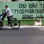 Cyclo Driver in Nha Trang, Viet Nam
