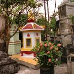 Tombs of Monks at the Giac Lam Pagoda, Saigon, Viet Nam