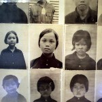 Photos of Children Murdered by the Khmer Rouge, Sleng Toul, Phnom Pehn, Cambodia