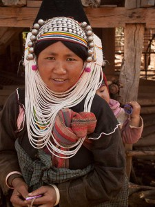 Woman of the Akha Tribe in Shan State, Myanmar