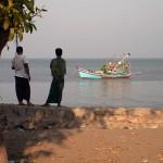 The Bay of Bengal at Sittwe, Myanmar
