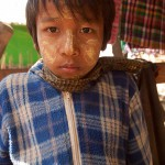 Boy From The Chin Tribe, Rakhine State, Myanmar