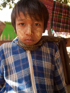 Boy From The Chin Tribe, Rakhine State, Myanmar