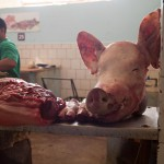 Meat Market in Santiago de Cuba