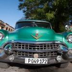 Old 1950's Cadillac in Holguin, Cuba