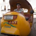Coco Taxi in Santiago de Cuba