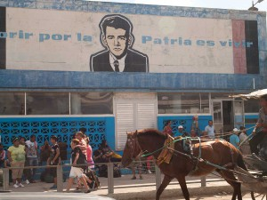 Exterior of Bus Station in Holguin, Cuba