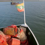 On The Way To Mrauk U From Sittwe, Myanmar